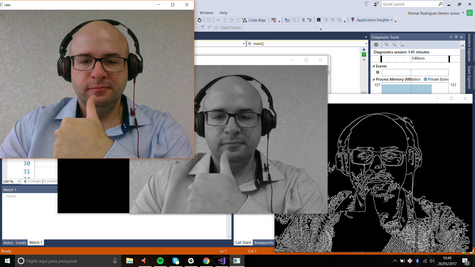 hello opencv with c    using visual studio 2017 and vcpkg